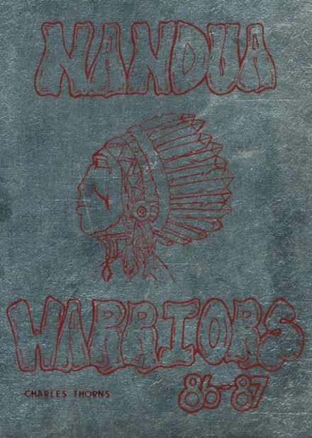 1987 Nandua High School Yearbook Cover