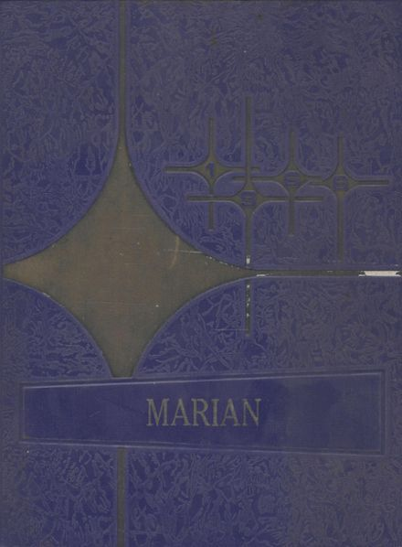 1966 St. Mary's High School Yearbook Cover