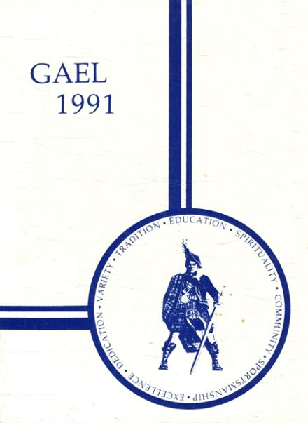 1991 St. Mary's High School Yearbook Cover