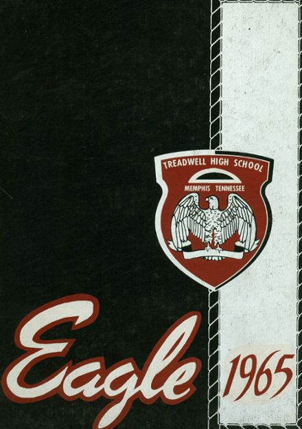 1965 Treadwell High School Yearbook Cover