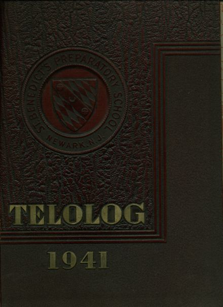 1941 St. Benedict's Preparatory Yearbook Cover