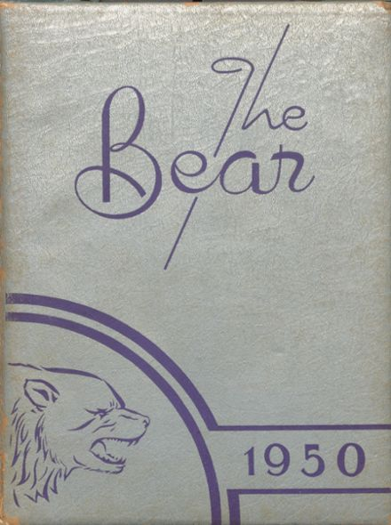 1950 Chandler's High School Yearbook Cover