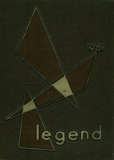 1961 Brookfield Central High School Yearbook Cover