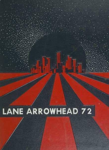 1972 Lane Technical High School Yearbook Cover