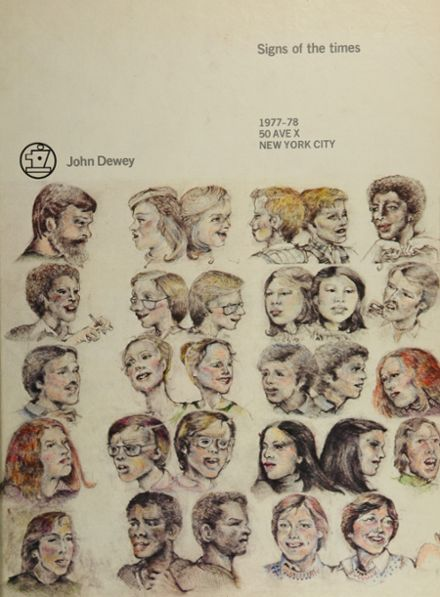 1978 John Dewey High School Yearbook Cover