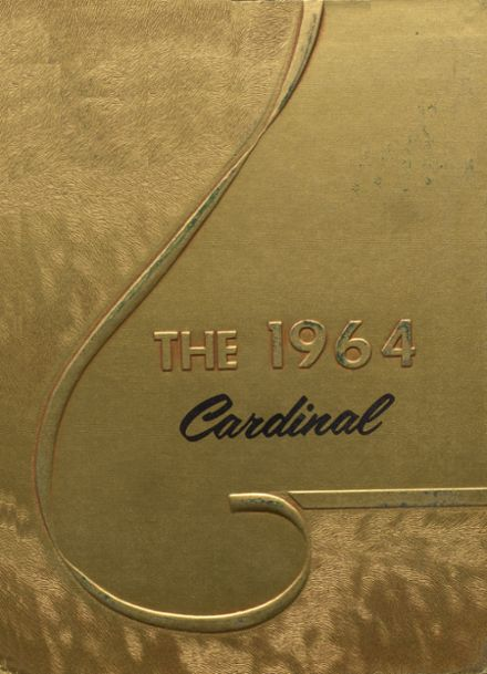 1964 Collinsville High School Yearbook Cover