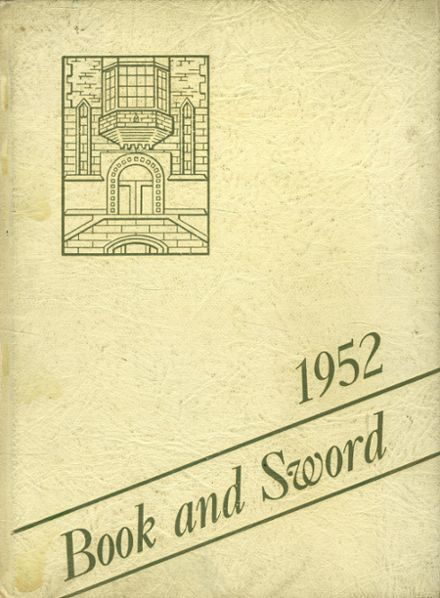 1952 St. Paul's Cathedral High School Yearbook Cover