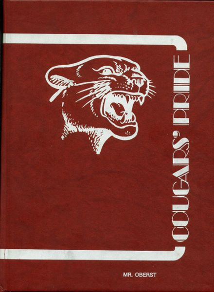 1983 Carter High School Yearbook Cover