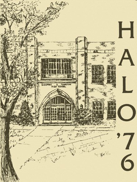 1976 St. Charles High School Yearbook Cover