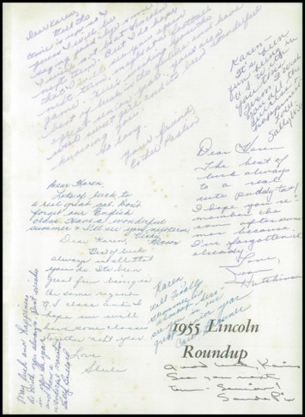 Explore 1955 Abraham Lincoln High School Yearbook, San