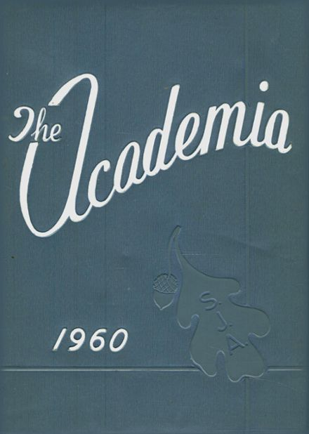 1960 St. Joseph's Academy Yearbook Cover