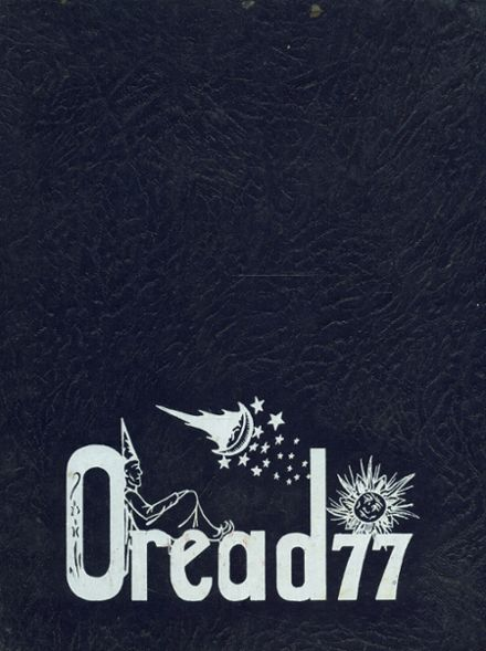 1977 Burlington High School Yearbook Cover