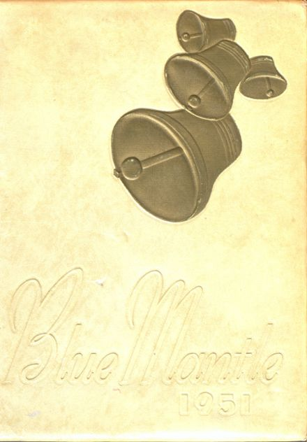 1951 St. Mary's High School Yearbook Cover