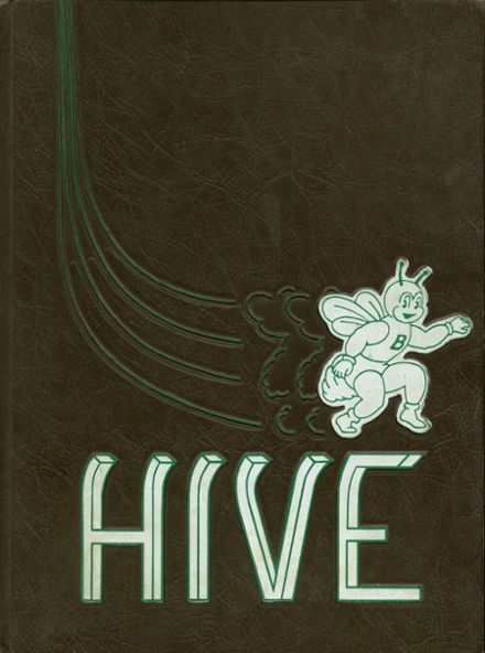 1967 Bonneville High School Yearbook Cover