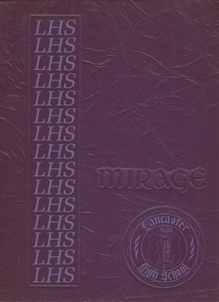 1974 Lancaster High School Yearbook Cover