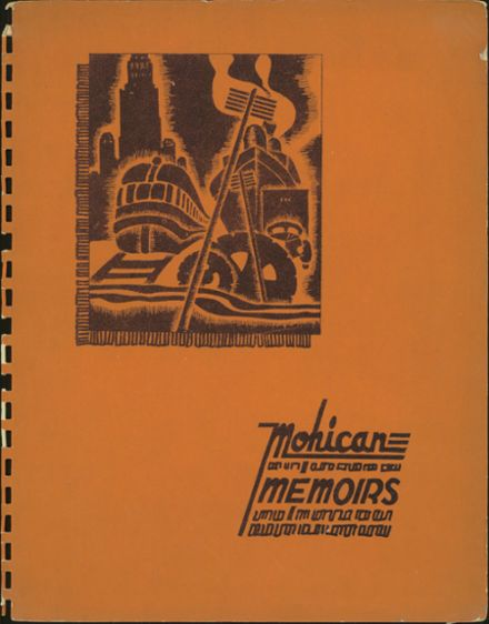 1940 Mohawk High School Yearbook Cover