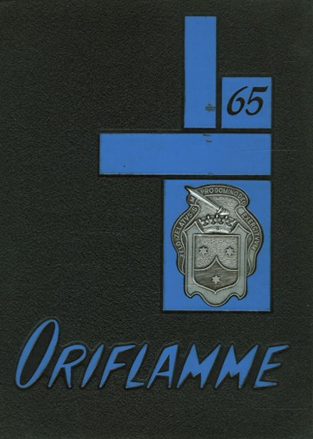 1965 Mt. Carmel High School Yearbook Cover