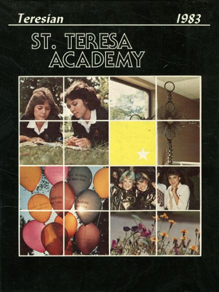 1983 St. Teresa's Academy Yearbook Cover