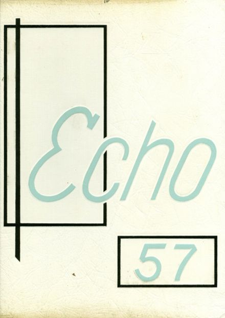 1957 Sanger High School Yearbook Cover