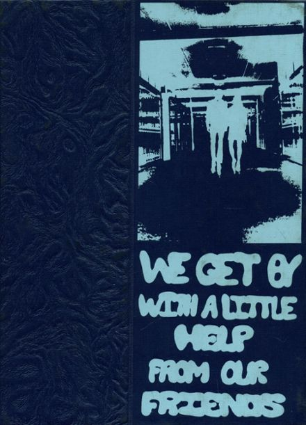 1971 Pennfield High School Yearbook Cover