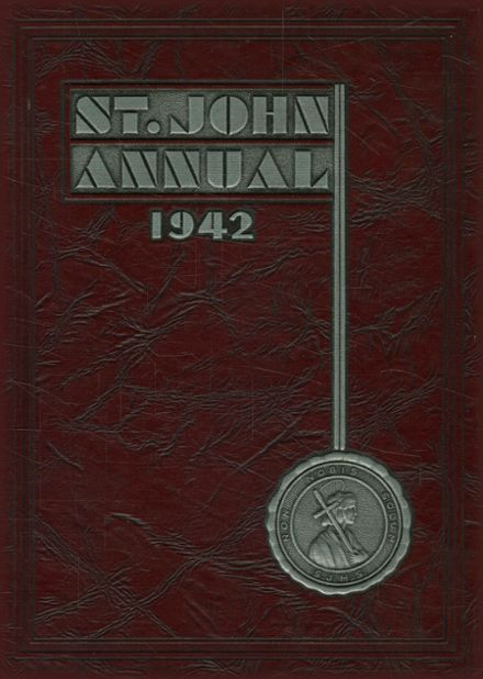 1942 St. John's Cathedral School Yearbook Cover
