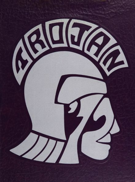 1972 Midlothian High School Yearbook Cover