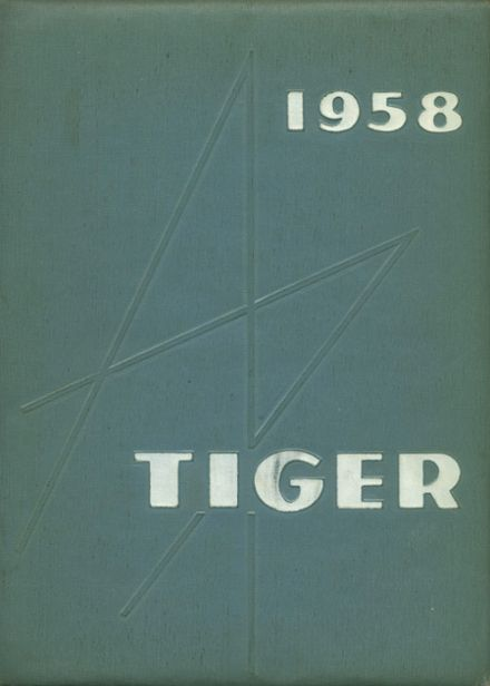 1958 South High School Yearbook Cover