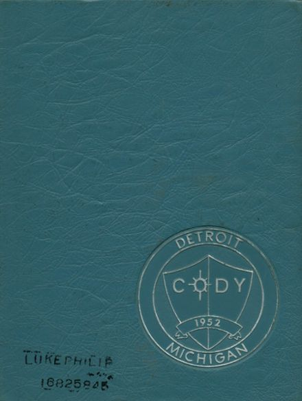 1965 Cody High School Yearbook Cover