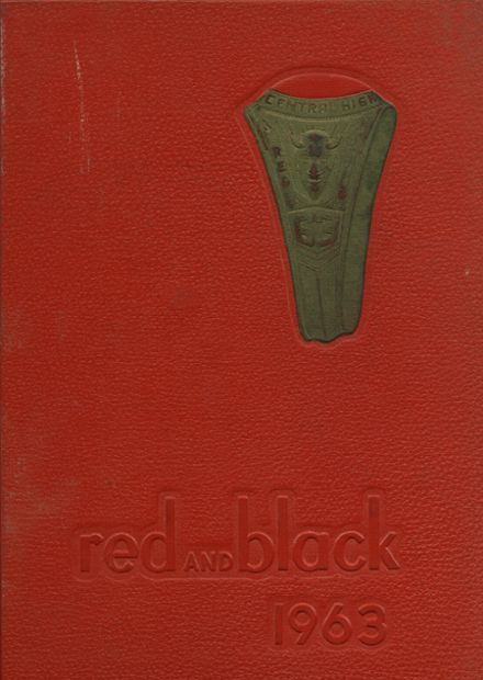 1963 Central High School Yearbook Cover