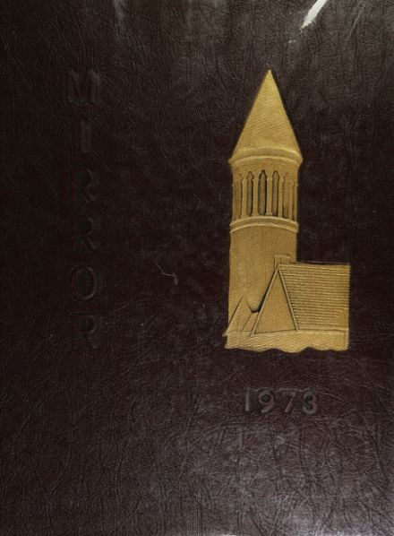 1973 Norwich Free Academy Yearbook Cover