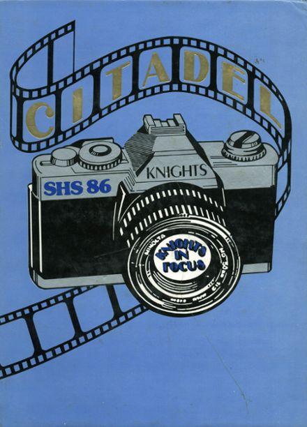 1986 Soquel High School Yearbook Cover