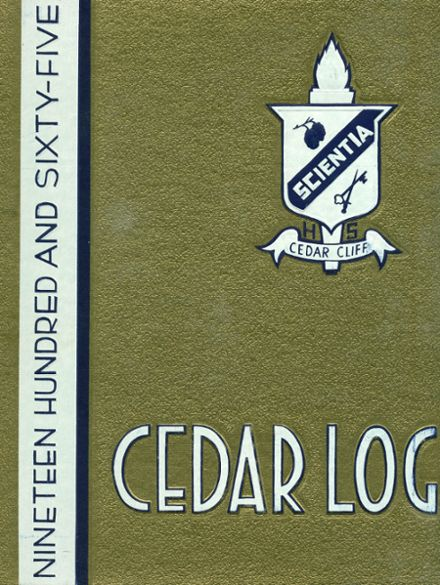 1965 Cedar Cliff High School Yearbook Cover