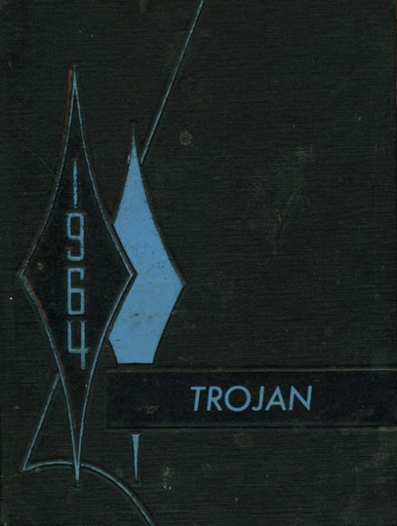 1964 Troy High School Yearbook Cover