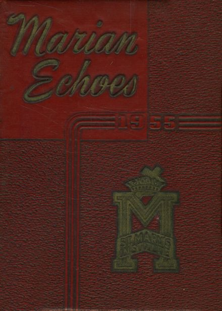 1955 St. Mary's Institute School Yearbook Cover