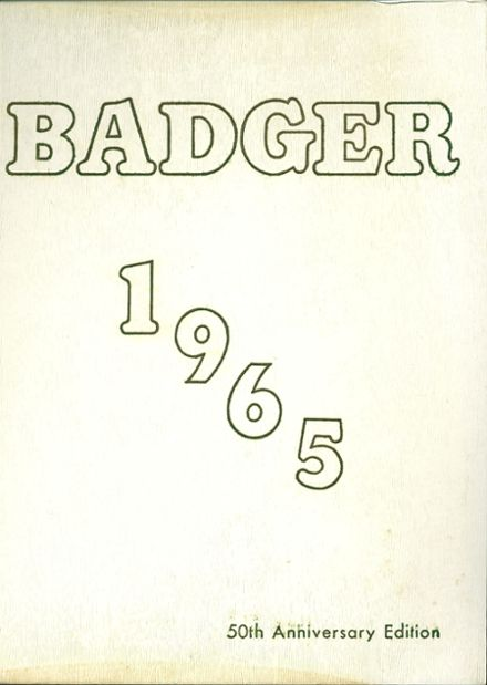 1965 Lampasas High School Yearbook Cover