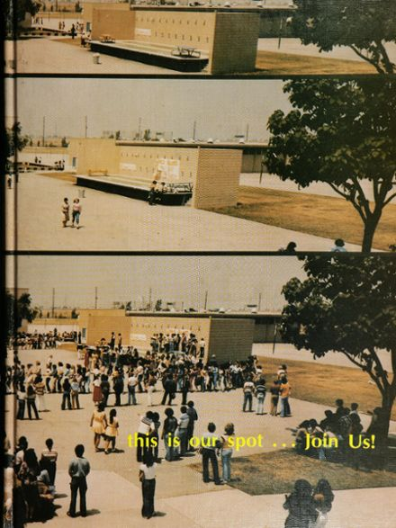 1979 Gahr High School Yearbook Cover