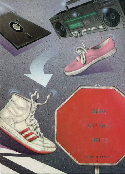 1987 San Benito High School Yearbook Cover