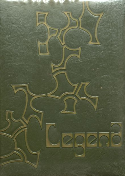 1967 East High School Yearbook Cover