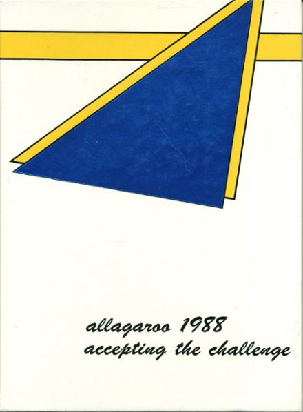 1988 Hutchinson High School Yearbook Cover