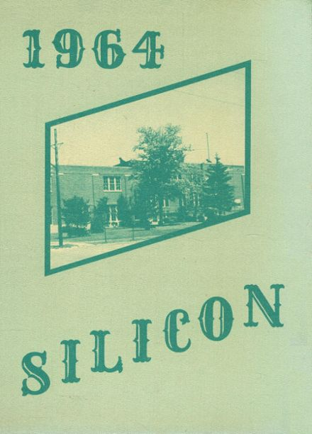 1964 Dunkirk High School Yearbook Cover
