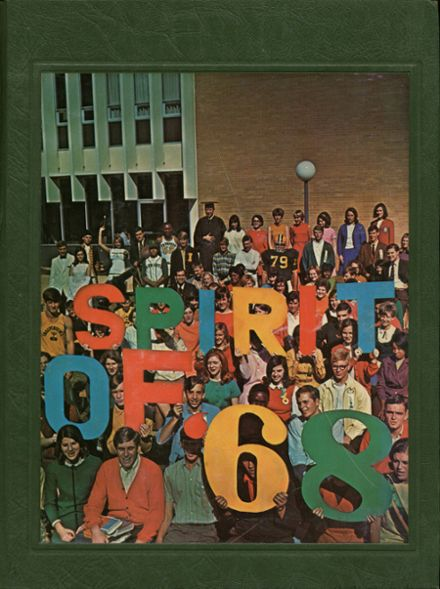 1968 independence high school yearbook cover