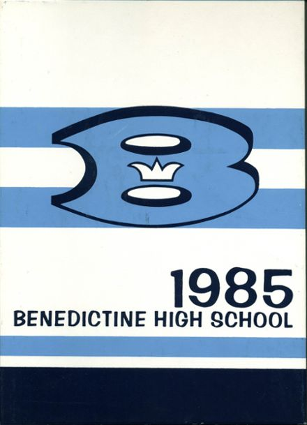 1985 Benedictine High School Yearbook Cover