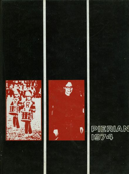 1974 Richmond High School Yearbook Cover