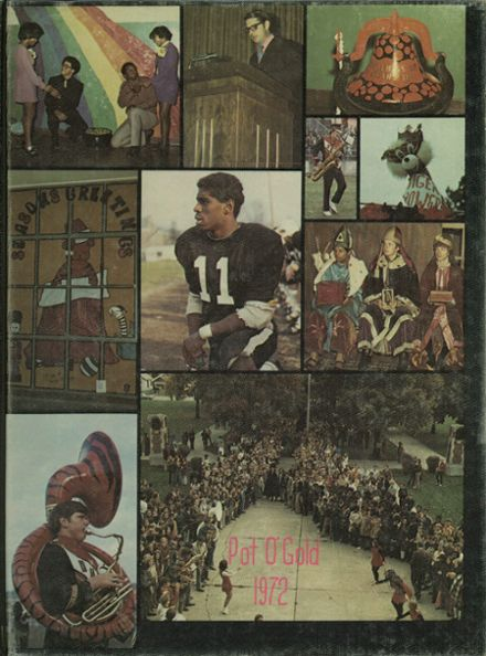 1972 DeVilbiss High School Yearbook Cover