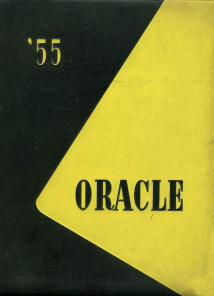 1955 Bakersfield High School Yearbook Cover