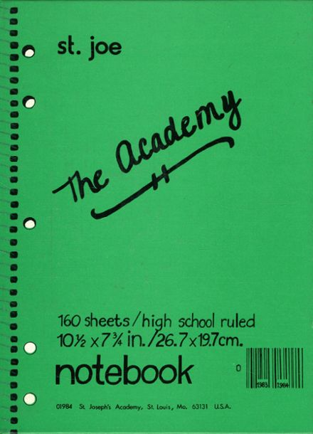1984 St. Joseph's Academy Yearbook Cover