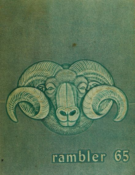 1965 Westmoor High School Yearbook Cover