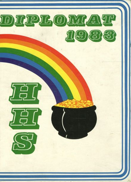 1983 Hamilton High School Yearbook Cover