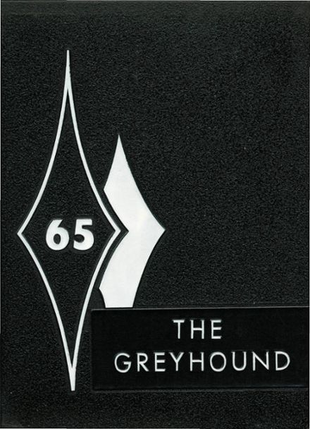 1965 Lyman High School Yearbook Cover