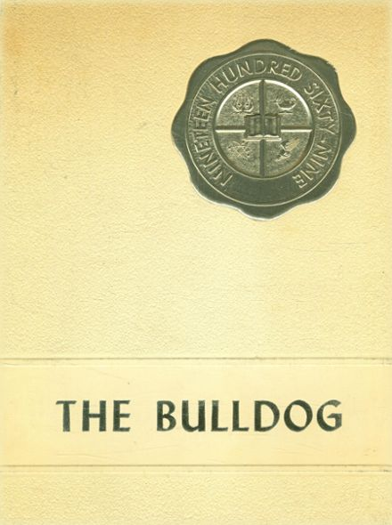 1969 McGregor High School Yearbook Cover